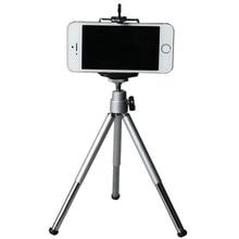Mini mobile phone tripod Aluminum alloy desktop photography digital SLR camera universal bracket with clip