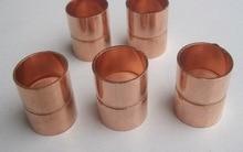 10PCS/LOT  Inner Diameter:8mm Thickness:0.5mm  International Standard Copper Welding Pipe Seamless Red Copper Tube Fittings   цены