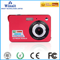 """Hot selling 18MP 2.7"""" TFT color LCD 4X Digital Zoom Portable Digtal Camera DC-530I Professional LCD Viewfinder Russian"""