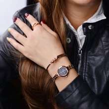Luxe Crystal Casual Quartz Wrist watch