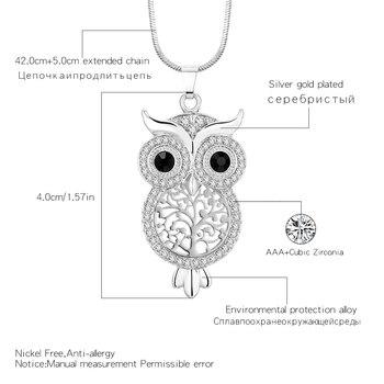 Owl Pendant Necklace 1