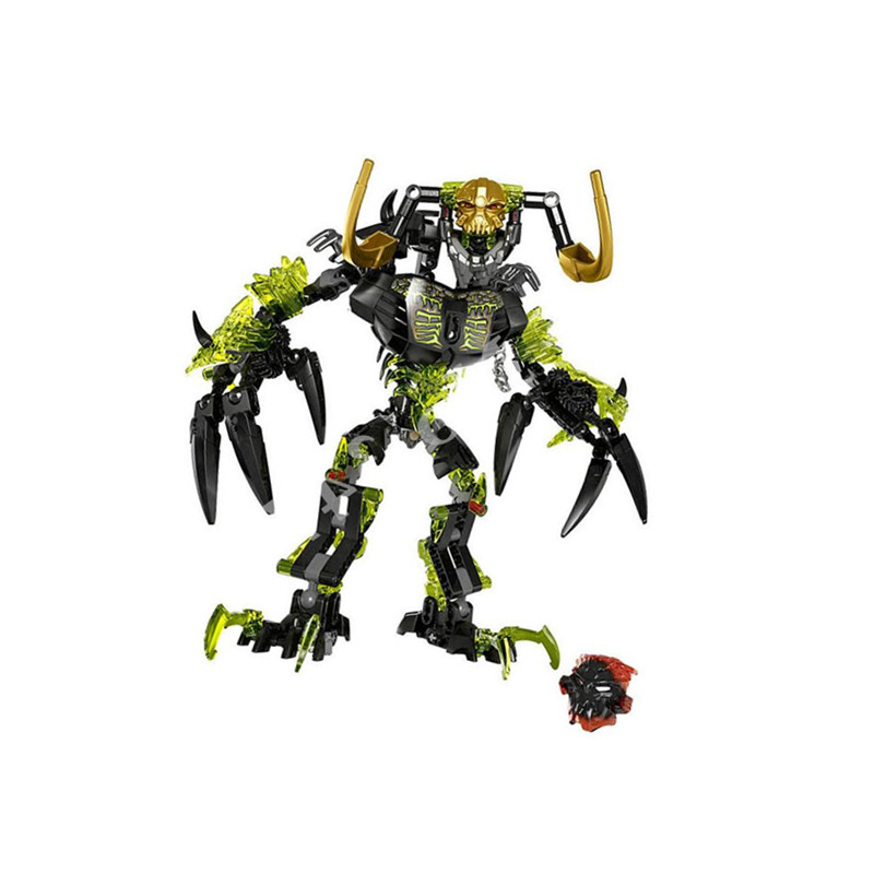 ksz 614 191pcs Biochemical Warrior Bionicle Umarak Destroyer Building Block Compatible legoing 71316 Brick Toy цена