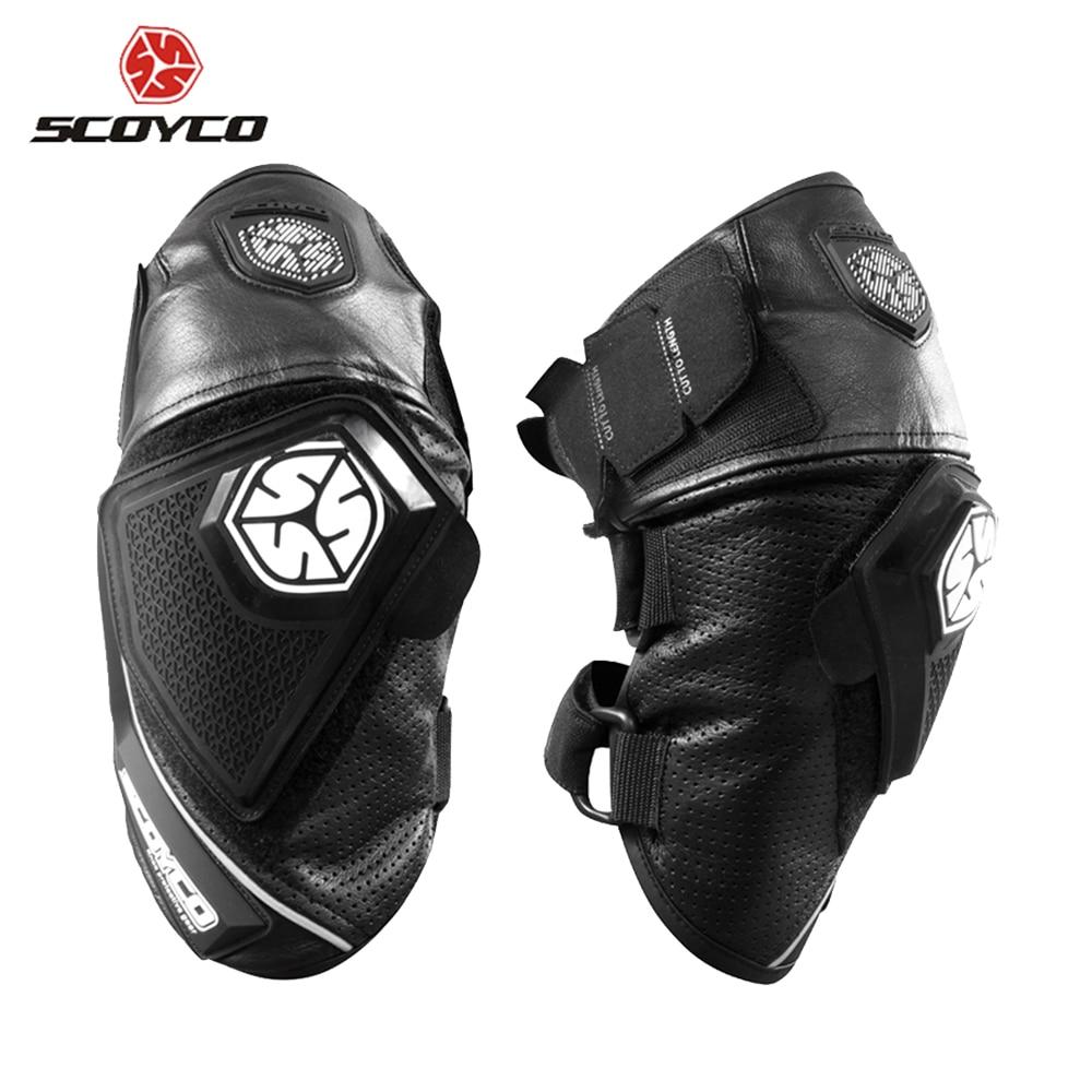 SCOYCO genouillères Motocross Moto Genouillère équipement de Protection Respirant Moto genouillère Protecteur Moto Protection