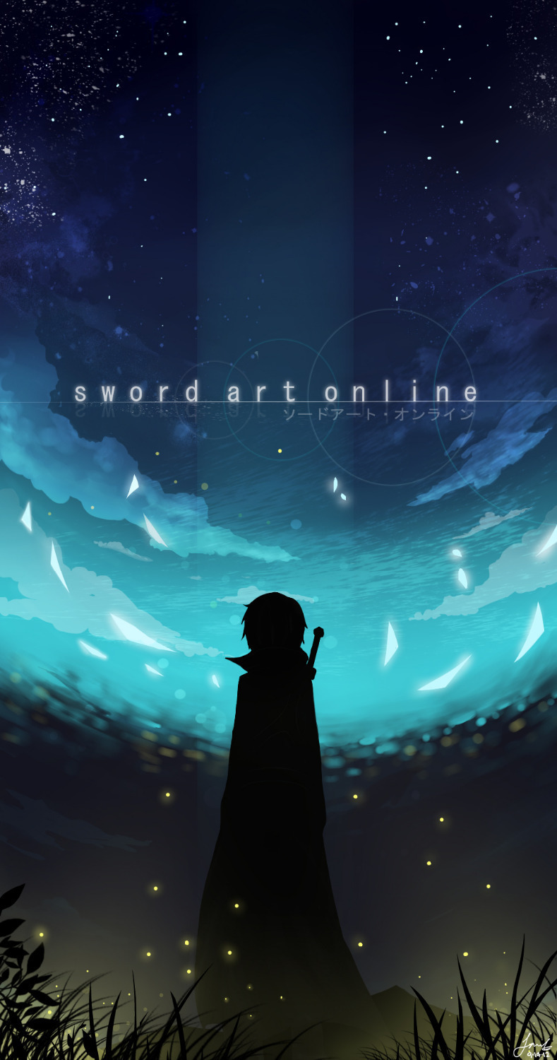 Us 7 49 25 Off P0201 Sword Art Online Fighting Hot Japan Anime Poster Printing Photo 30x90cm In Painting Calligraphy From Home Garden On