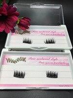 10pairs Magnetic Eyelash Extentions Magnet False Fake Eyelashes Easy To Wear False Eyelashes Makeup Handmade Top