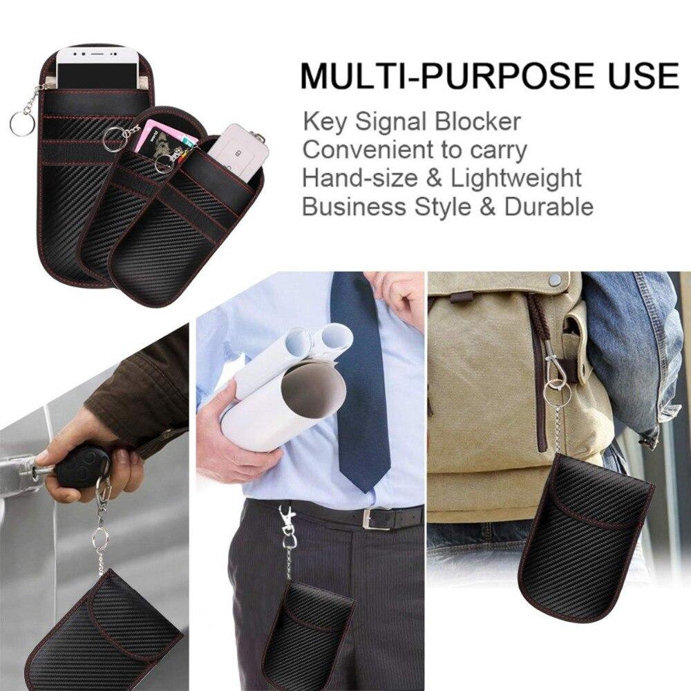 Signal blocking bag multi use-7