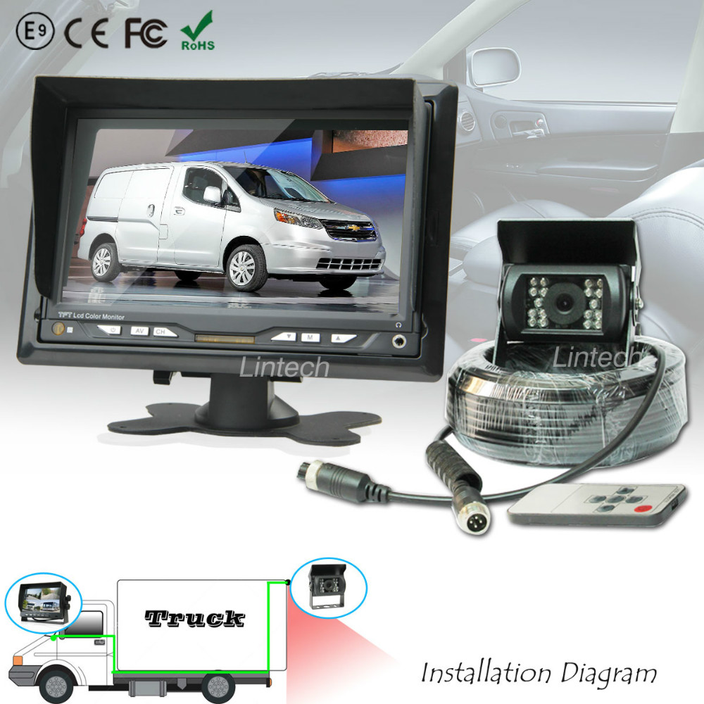 compare prices on rv side online shopping buy low price rv side shipping 7 inch rear view reverse wired rv rear view camera system