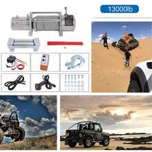 Treuil électrique automatique 13000lb 5909Kg de camion de voiture résistant aux éclaboussures de Profession avec la corde avec la télécommande Radio sans fil résistante