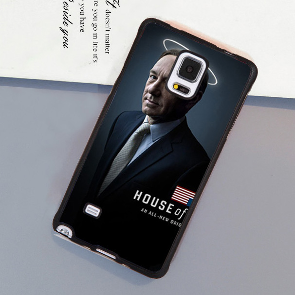 House of Cards Poster Printed Soft Rubber Mobile Phone Case For Samsung S4 S5 S6 S7 edge plus Note 2 Note 3 Note 4 Note 5 Cover