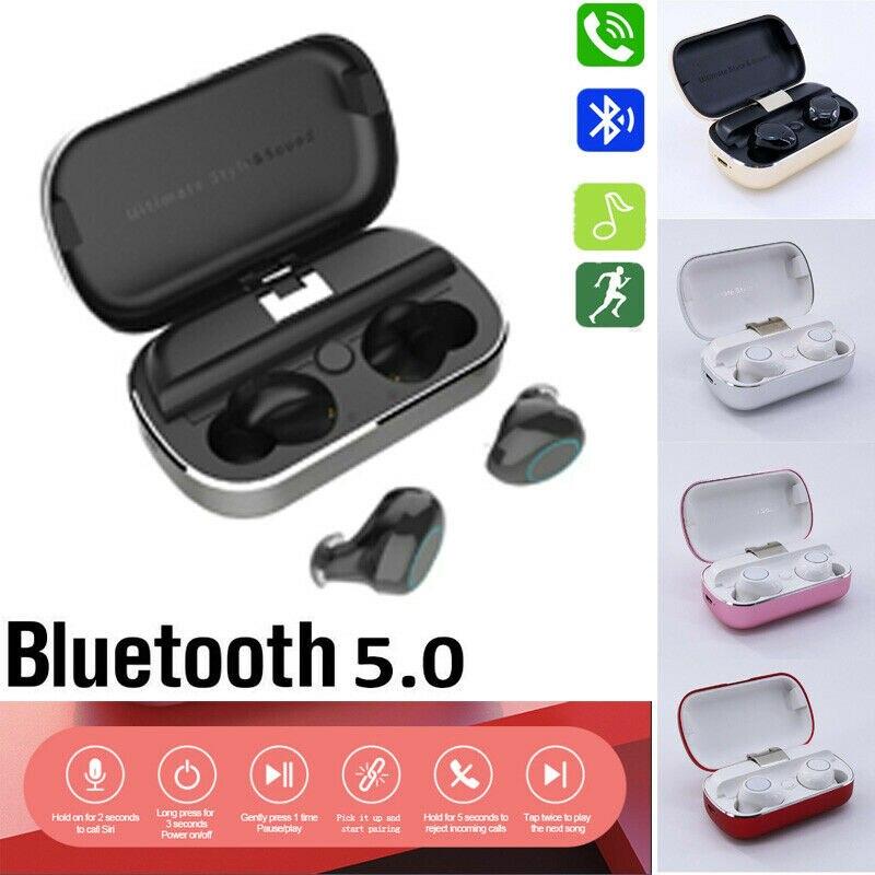 Bluetooth S8 Wireless Mini  Sports Stereo Earbud Headset Earphone Headphone