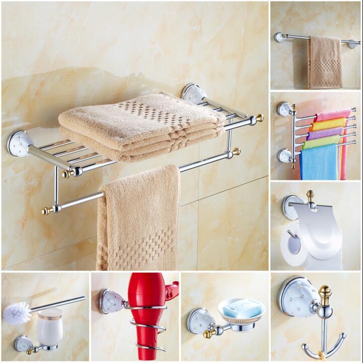 Chrome brass copper diamond base bathroom accessories bath - Chrome and brass bathroom accessories ...