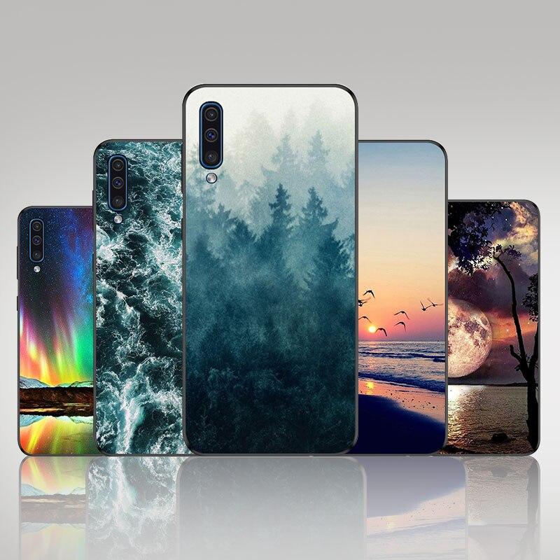 For A50 Samsung Galaxy A50 Case For Funda Samsung A50 Silicon Case Bumper For Capa Samsung Galaxy A50 A505F 2019 Phone Coque