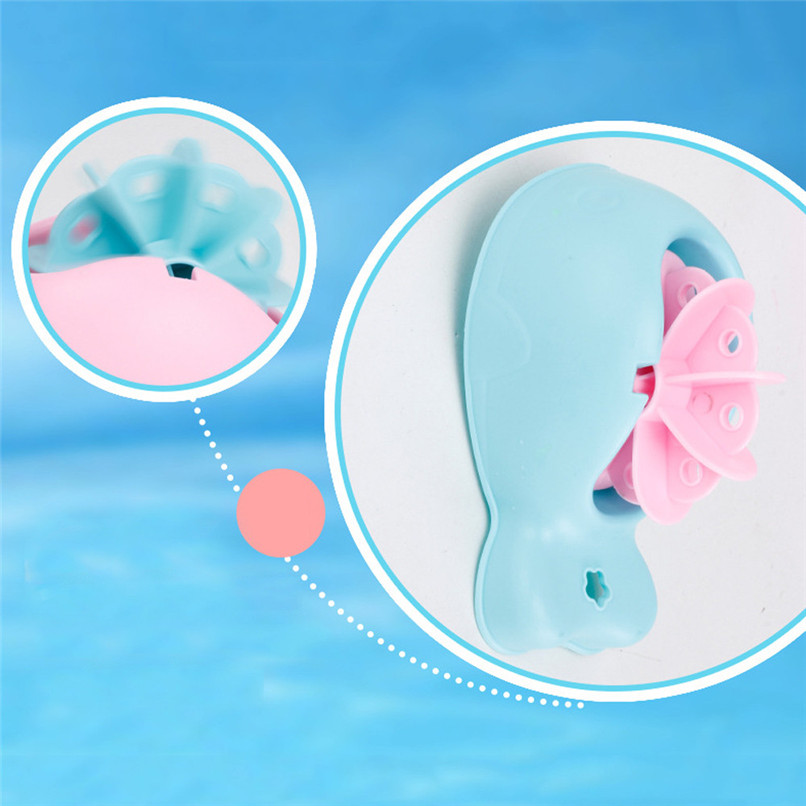 3 Pcs Random Color Dabbling Toys Plastic Floating Toys Kids Baby Bathing Shower Play Water Toys suit for tub or pool JE26#F