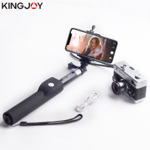 Штатив kingjoy для экшн камеры портативная селфи палка bluetooth