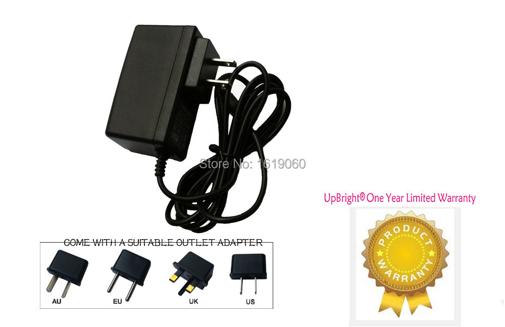 UpBright New AC / DC Adapter For Archer Cat  No  273 1656