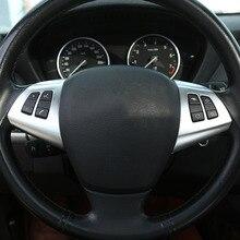 2 шт. ABS Пластик кнопку руль рамы Обрезать для BMW X5 E70 2008-2013 автомобильные аксессуары
