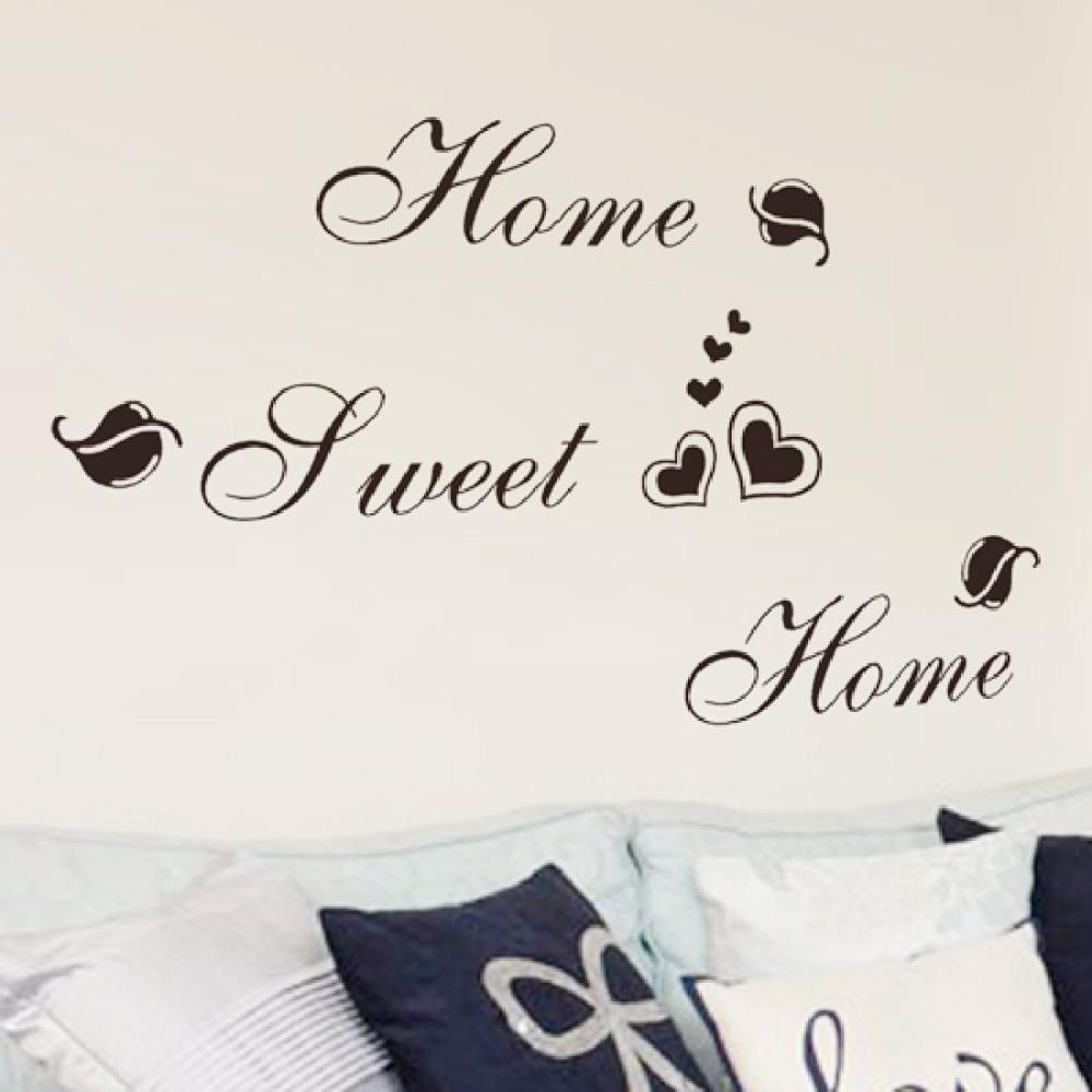 Wall stickers home sweet home - Motto Home Sweet Diy Removable Art Vinyl Quote Wall Sticker Decal Mural Home Decoration