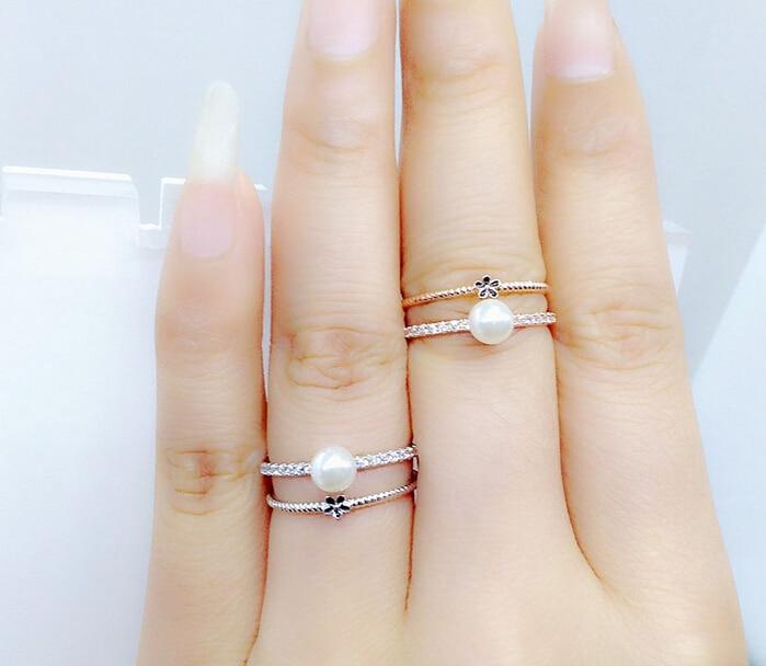 ヾ(^▽^)ノНовые Белые Золотой цвет обручальное кольцо с ... e66a8fef05f