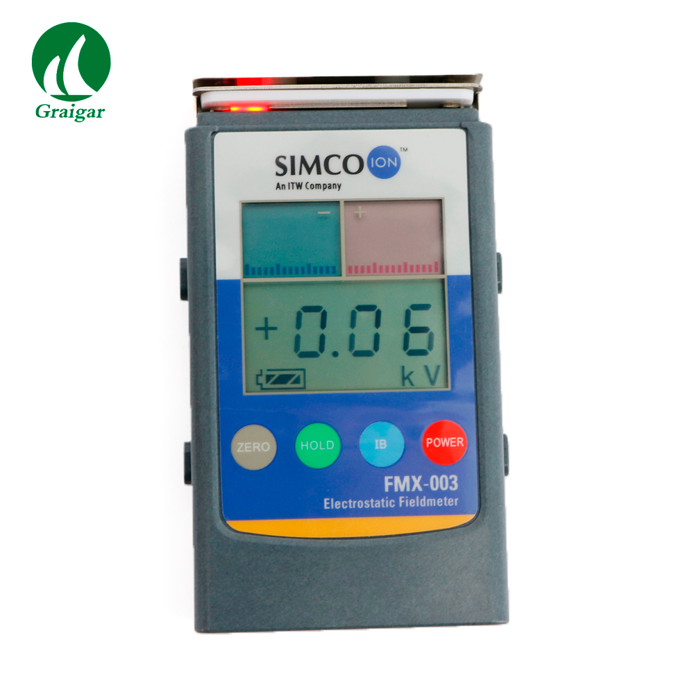 FMX-003 Digital  Electrostatic Fieldmeter Digital and Bar Graph Display Automatic Power-off