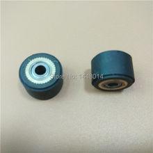 4x10x14mm roland mimaki roda de rolo de pressão de borracha do cortador de vinil plotter de corte de roda de rolo de pressão de cobre 3x10x14mm 10 pces