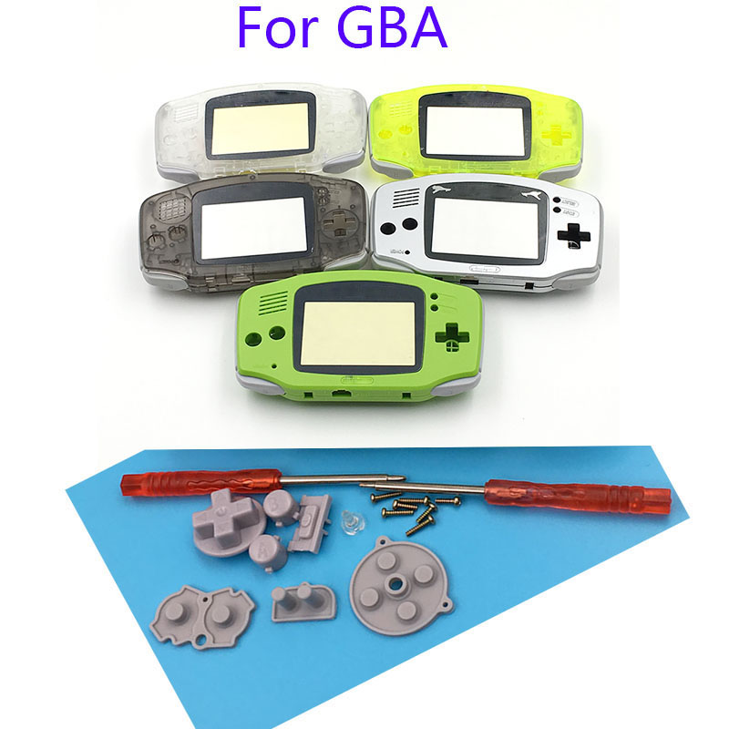 For Gameboy Advance Shell Complete Housing Case Shell for Nintendo GBA Housing Case