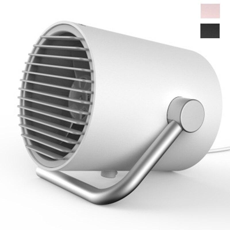DMWD Portable USB Cooling Fan Mini Electric Fan Desktop Fan Super Mute For PC / Laptop / Power Bank Summer Gadget DC 5V jlk 004 usb 2 0 dual fan cooling dock stand for laptop black dc 5v