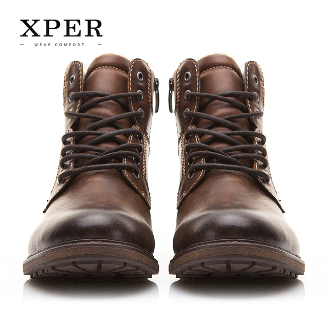 Brand Autumn Winter Motorcycle Men Boots 2