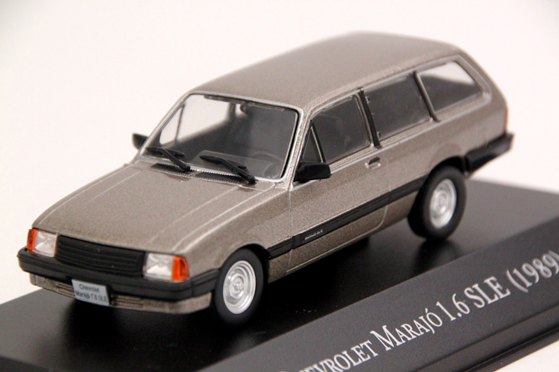 IXO Altaya 1:43 Scale Chevrolet Marajo 1.6 SLE 1989 Car Diecast Models Limited Edition Collection Toys Gift
