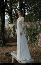 free shipping casamento fashionable beading lace long sleeve hot sexy backless vestido de novia wedding Dress 2014 bridal gown