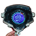 Motorcycle Speedometer Motorbike LCD digital speedometer seven color screen Motorcycle odometer Tachometer ajustable