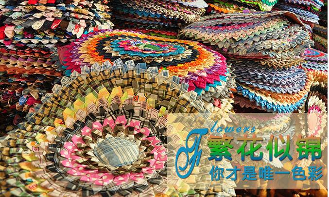 Thailand cloth mat Pastoral chair cushion home floor ethnic style jewelry students in kindergarten picnic cushion cushion ...