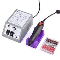 Profissional Elétrica Máquina Manicure Pedicure Arquivo Broca Prego 20000 RPM Manicure Moagem Polidor Ferramentas Para Nail Art