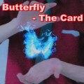 Envío gratis de la mariposa la tarjeta - truco de magia, magia de cerca, apareciendo magia magia, mentalismo