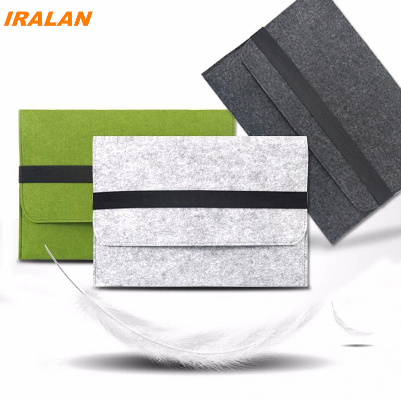 Best selling Wool felt Computer Sleeve Case For Macbook Laptop AIR PRO Retina 11 12 13 15 13.3 15.4 inch Notebook Touch Bar Bag