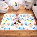 110*160 Baby Portable Foldable Washable Changing mat infant waterproof mattress children game Floor mats cushion Reusable Diaper