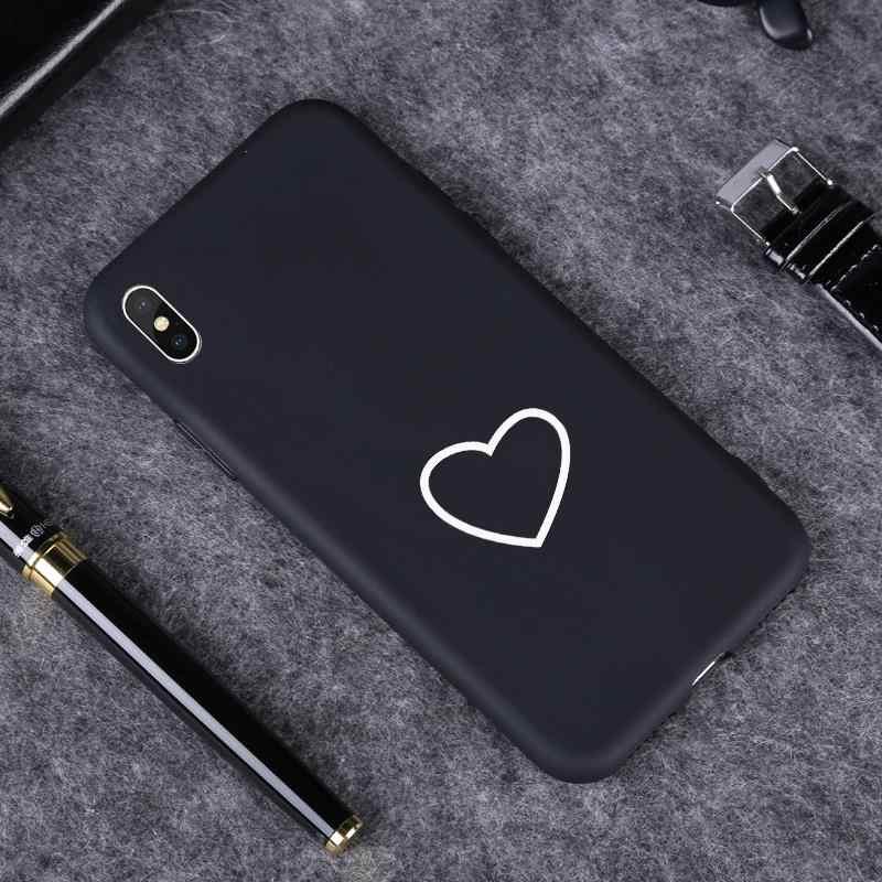 Cute Love Heart Case For Huawei P20 Mate 10 Lite 20 P10 P8 P9 Lite 2017 Nova 3 3i 4 8S P30 Pro Cover For Honor 8A 9 10 8X Max 8C