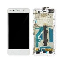 Черный/белый ЖК-дисплей + TP для BQ Aquaris a4.5 ЖК-дисплей Дисплей с Сенсорный экран планшета смартфон Замена с Рамки
