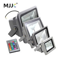 LED Flood Light 10W 20W 30W 50W RGB Outdoor Flood Light LED Waterproof IP65 Lamp 110V