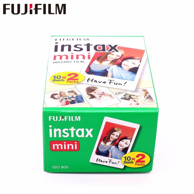 Original 100 feuille Fuji Fujifilm Instax Mini 8 Film blanc papier Photo instantané pour 7 s 8 9 90 25 55 partager SP-1 SP-2 appareil Photo instantané - 5