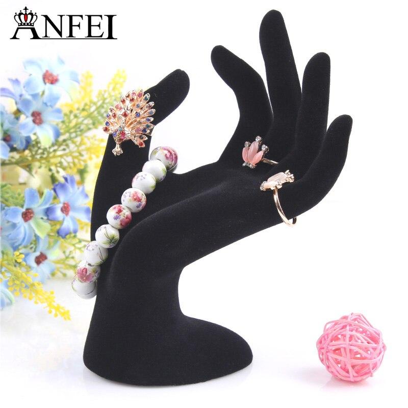 Anfei Velvet Hand Model Jewelry...