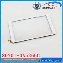 Novo painel da tela de toque de 8 ''polegadas para onda v819i 80701-0A5066C Painel Digitalizador Substituição do Sensor de Frete Grátis