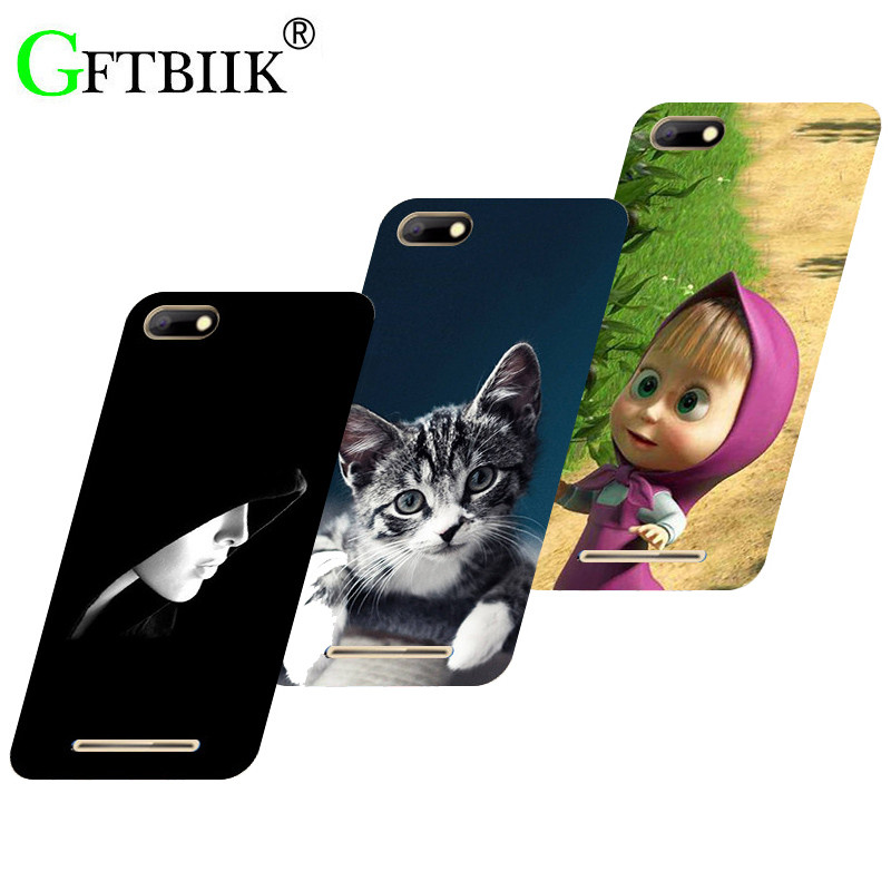 Hot Ultra Thin Back Cover For BQ Strike BQS-5020 BQ 5020 5.0 Protective Phone Case Horse Dog Cat Fruits Soft Silicone Cases