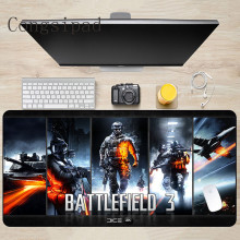 Congsipad 900*400*2mm Battlefield Gaming Mouse Pad Locking Edge Large Mat PC Computer Laptop MousePad for CS GO Dota 2 Lol