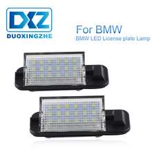 цена на 2pcs Led Car License Plate Light Auto Canbus Error Free For BMW 3-series E36 318i 318is 318ti 320i 323i 325i 325is 328i 328is M3