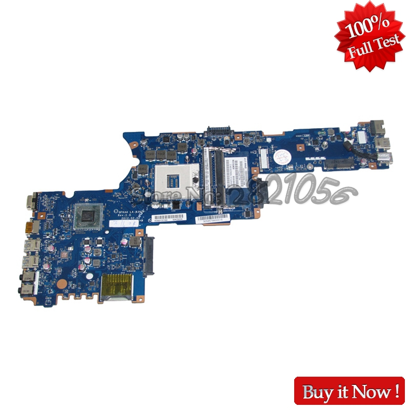 NOKOTION New K000135160 QFKAA LA 8392P Laptop Motherboard For Toshiba Satellite P850 P855 MAIN BOARD HM77