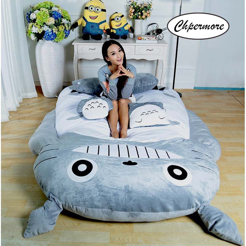 Image 5 - Chpermore Big size Cute Cartoon Mattresses Comfortable Living room Hotel tatami Multifunction Thicken Mattress King Queen Size-in Mattresses from Furniture
