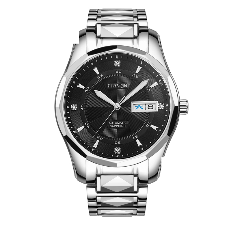 GUANQIN GJ16013 watches men luxury brand Japan Movement Mechanical Watch Stainless steel Wristwatch relogio masculino read brand tops automatic watches men minimalism luxury black watch men full steel relogio japan movement week and date 8082