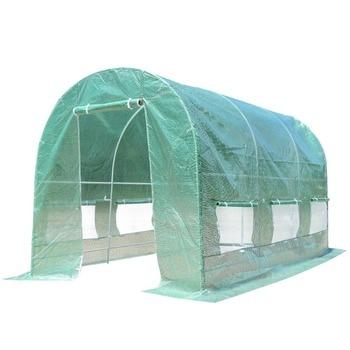 Invernadero de Jardin Vivero Casero Plantas Cultivos con Ventana 200x350x200cm OP3620