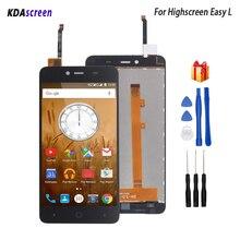 Для высокого экрана Easy L ЖК-дисплей сенсорный экран дигитайзер Запчасти для телефонов для высокого экрана easy L Экран ЖК-дисплея Бесплатные инструменты