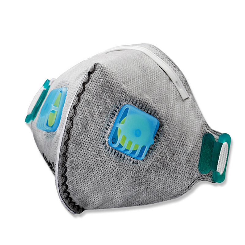 Back To Search Resultsbeauty & Health Non-woven Pm2.5 Anti Haze Mask Breath Valve Anti-dust Mouth Mask Activated Carbon Filter Respirator Mouth-muffle Black Mask Face
